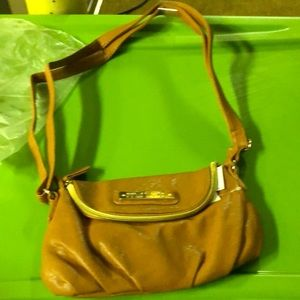 NWT MINICCI CAMEL SMALL WOMEN CROSSBODY SHOULDER